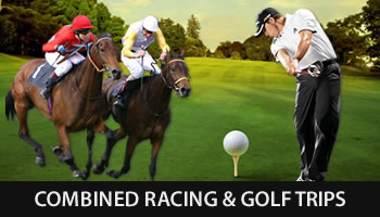 horse racing-golf-trips