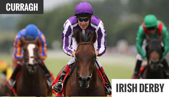 Irish Racing Derby winner 2012 Fame & Glory