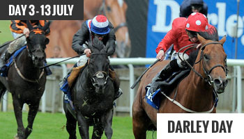 Newmarket July Festival Darley Day 3