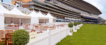 Royal Ascot Silks Lawn private gazebos