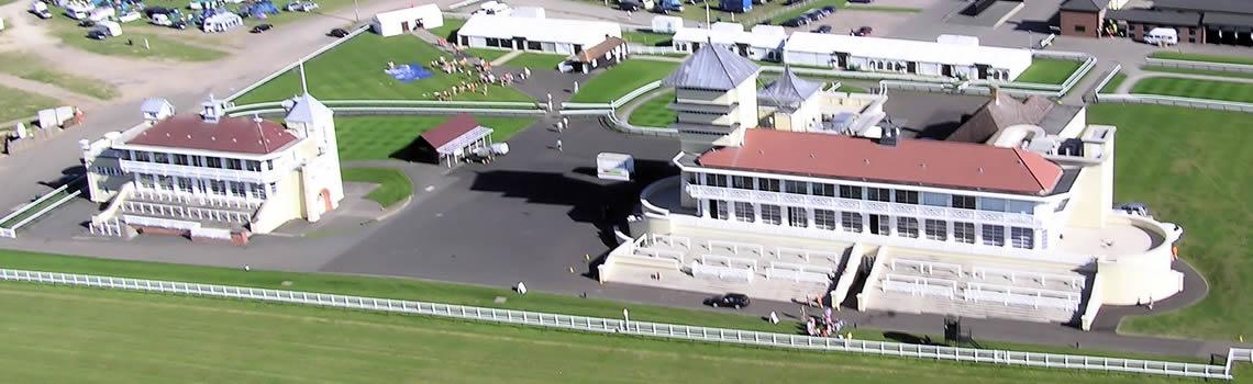 Towcester Racecourse Aerial