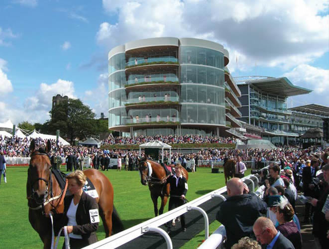 York Racecourse Award Winning Stand