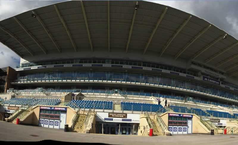 Doncaster Racecourse Grandstand Closeup