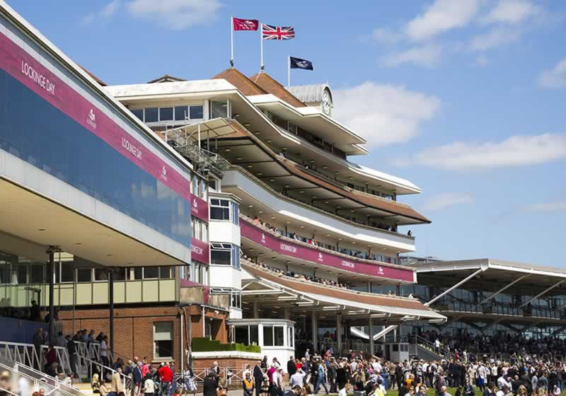 Newbury Lockinge Day Grandstands