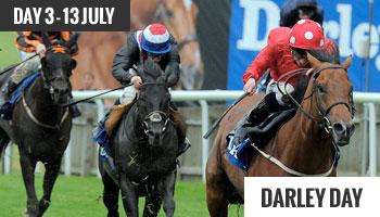 Newmarket July Festival Darley Day 3