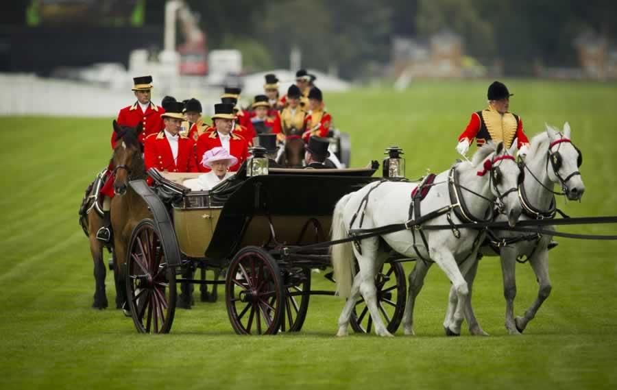 Royal Ascot Queen's Procession