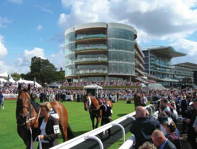 York Racecourse Award Winning Stand