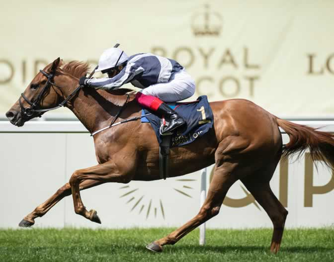 Alpine Star and Frankie Dettori win Coronation Stakes Royal Ascot 2020