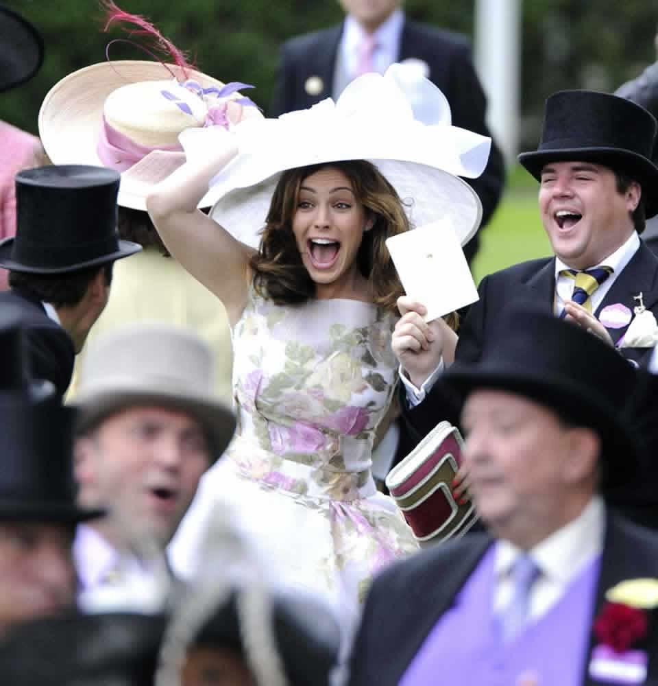 Royal Ascot racegoers dressed to impress