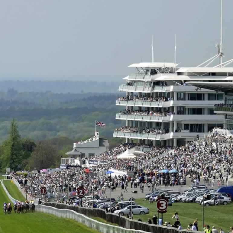 Epsom Downs Racecourse Grandstands